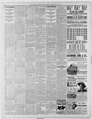 The Saint Paul Globe from Saint Paul, Minnesota on July 2, 1889 · Page 6