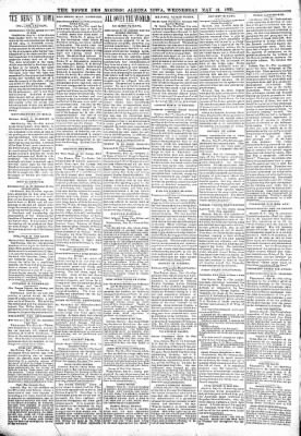 The Algona Upper Des Moines from Algona, Iowa on May 31, 1899 · Page 10