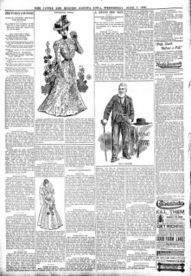 The Algona Upper Des Moines from Algona, Iowa on June 7, 1899 · Page 6