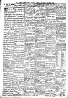 The Algona Upper Des Moines from Algona, Iowa on June 14, 1899 · Page 4
