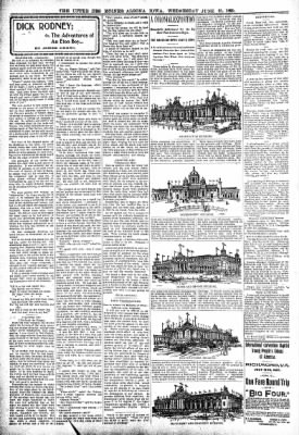The Algona Upper Des Moines from Algona, Iowa on June 21, 1899 · Page 6