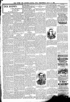 The Algona Upper Des Moines from Algona, Iowa on July 19, 1899 · Page 3