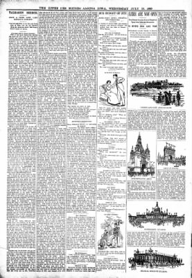 The Algona Upper Des Moines from Algona, Iowa on July 19, 1899 · Page 6