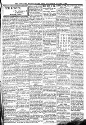 The Algona Upper Des Moines from Algona, Iowa on August 2, 1899 · Page 3