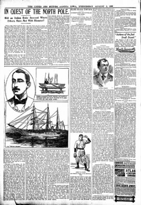 The Algona Upper Des Moines from Algona, Iowa on August 2, 1899 · Page 6