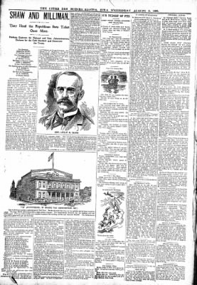 The Algona Upper Des Moines from Algona, Iowa on August 9, 1899 · Page 8