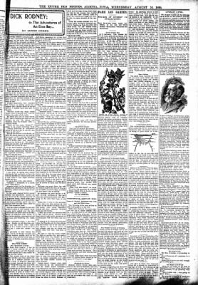 The Algona Upper Des Moines from Algona, Iowa on August 16, 1899 · Page 3