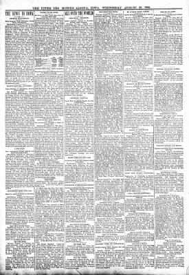 The Algona Upper Des Moines from Algona, Iowa on August 23, 1899 · Page 2