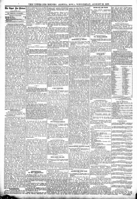 The Algona Upper Des Moines from Algona, Iowa on August 23, 1899 · Page 4