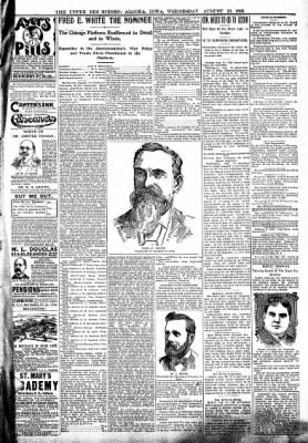 The Algona Upper Des Moines from Algona, Iowa on August 23, 1899 · Page 7