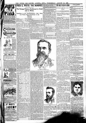 The Algona Upper Des Moines from Algona, Iowa on August 23, 1899 · Page 9