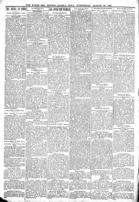 The Algona Upper Des Moines from Algona, Iowa on August 30, 1899 · Page 2