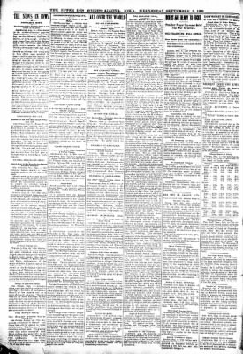 The Algona Upper Des Moines from Algona, Iowa on September 6, 1899 · Page 4
