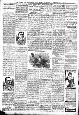 The Algona Upper Des Moines from Algona, Iowa on September 6, 1899 · Page 8