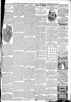 The Algona Upper Des Moines from Algona, Iowa on September 13, 1899 · Page 7