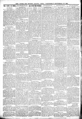 The Algona Upper Des Moines from Algona, Iowa on September 27, 1899 · Page 4