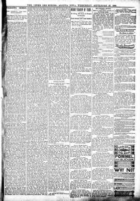 The Algona Upper Des Moines from Algona, Iowa on September 27, 1899 · Page 5