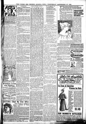 The Algona Upper Des Moines from Algona, Iowa on September 27, 1899 · Page 9