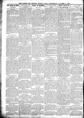 The Algona Upper Des Moines from Algona, Iowa on October 4, 1899 · Page 2