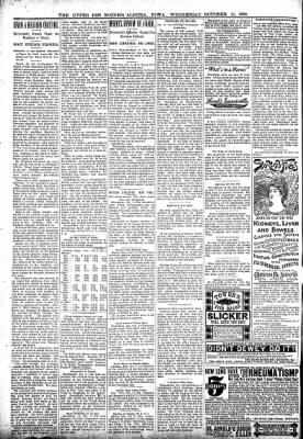 The Algona Upper Des Moines from Algona, Iowa on October 11, 1899 · Page 6