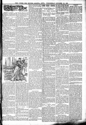 The Algona Upper Des Moines from Algona, Iowa on October 25, 1899 · Page 3