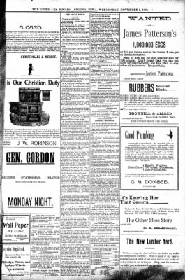 The Algona Upper Des Moines from Algona, Iowa on November 1, 1899 · Page 7
