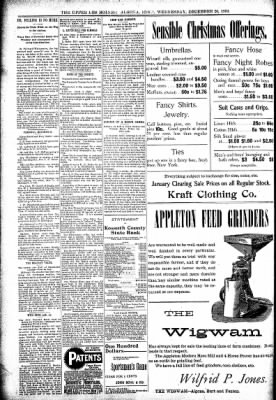 The Algona Upper Des Moines from Algona, Iowa on December 20, 1899 · Page 10