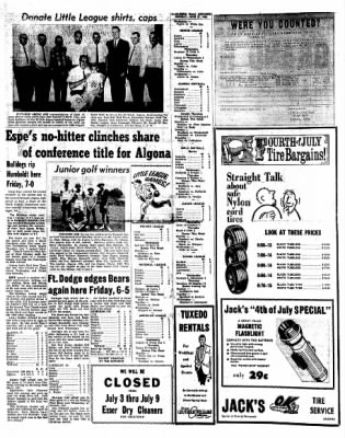 Kossuth County Advance from Algona, Iowa on June 27, 1966 · Page 4