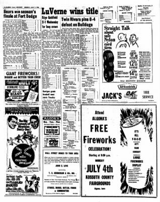 Kossuth County Advance from Algona, Iowa on July 4, 1966 · Page 4