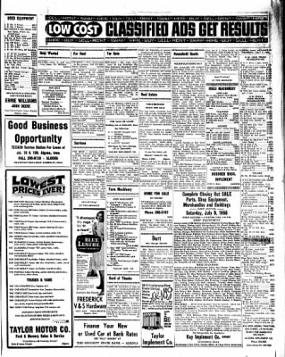 Kossuth County Advance from Algona, Iowa on July 7, 1966 · Page 5