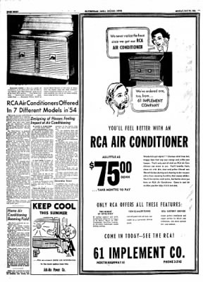The Courier News from Blytheville, Arkansas on May 31, 1954 · Page 22
