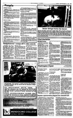 Ukiah Daily Journal from Ukiah, California on September 13, 1987 · Page 15