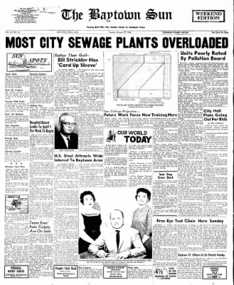 The Baytown Sun from Baytown, Texas on February 27, 1966 · Page 1