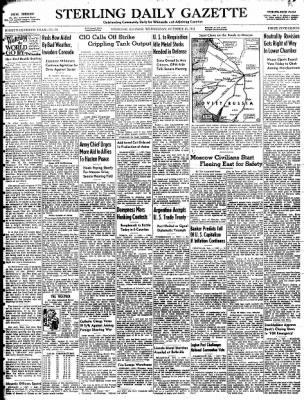 Sterling Daily Gazette from Sterling, Illinois on October 15, 1941 · Page 1