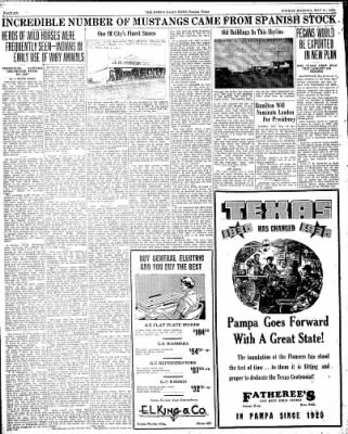Pampa Daily News from Pampa, Texas on May 31, 1936 · Page 12