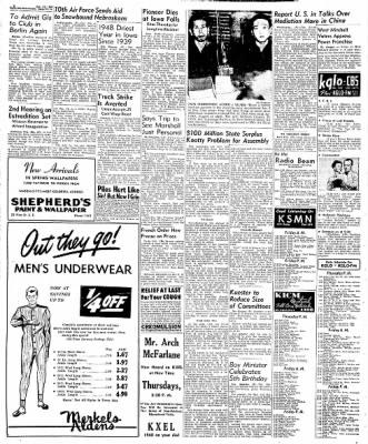 Globe-Gazette from Mason City, Iowa on January 14, 1949 · Page 24