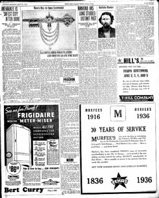 Pampa Daily News from Pampa, Texas on May 31, 1936 · Page 13