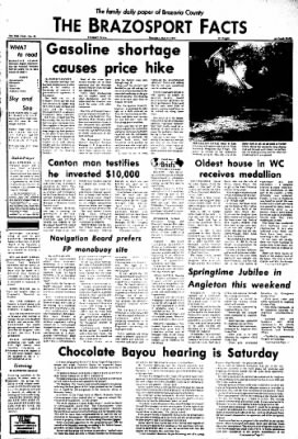 The Brazosport Facts from Freeport, Texas on May 31, 1973 · Page 1