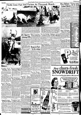 Arizona Republic from Phoenix, Arizona on February 15, 1941 · Page 8