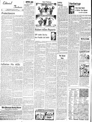 Pampa Daily News from Pampa, Texas on February 11, 1959 · Page 6