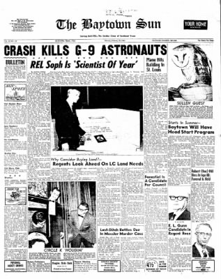 The Baytown Sun from Baytown, Texas on February 28, 1966 · Page 1