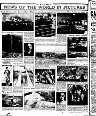 Decatur Evening Herald from Decatur, Illinois on October 3, 1930 · Page 28