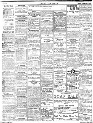 The Daily Review from Decatur, Illinois on June 27, 1914 · Page 6