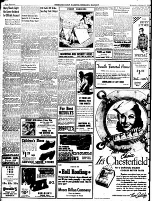 Sterling Daily Gazette from Sterling, Illinois on October 15, 1941 · Page 14