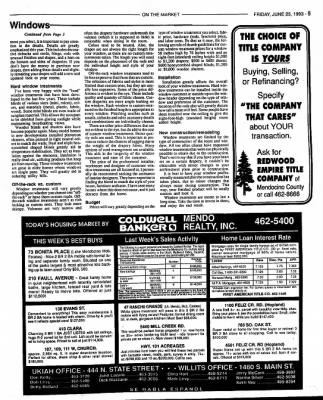 Ukiah Daily Journal from Ukiah, California on June 25, 1993 · Page 27