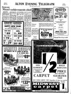 Alton Evening Telegraph from Alton, Illinois on December 28, 1970 · Page 19