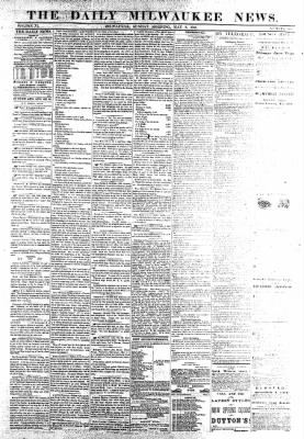The Daily Milwaukee News from Milwaukee, Wisconsin on May 8, 1859 · Page 1
