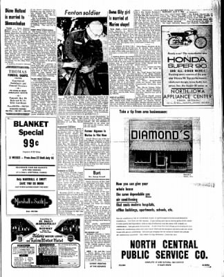 Kossuth County Advance from Algona, Iowa on July 7, 1966 · Page 13
