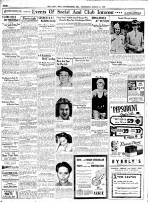 The Daily Mail from Hagerstown, Maryland on August 2, 1939 · Page 4