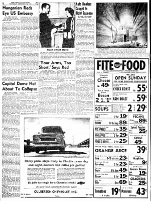 Pampa Daily News from Pampa, Texas on February 12, 1959 · Page 6